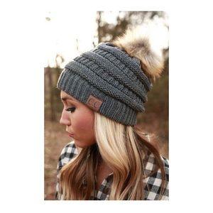 CC Pom Beanie Hat